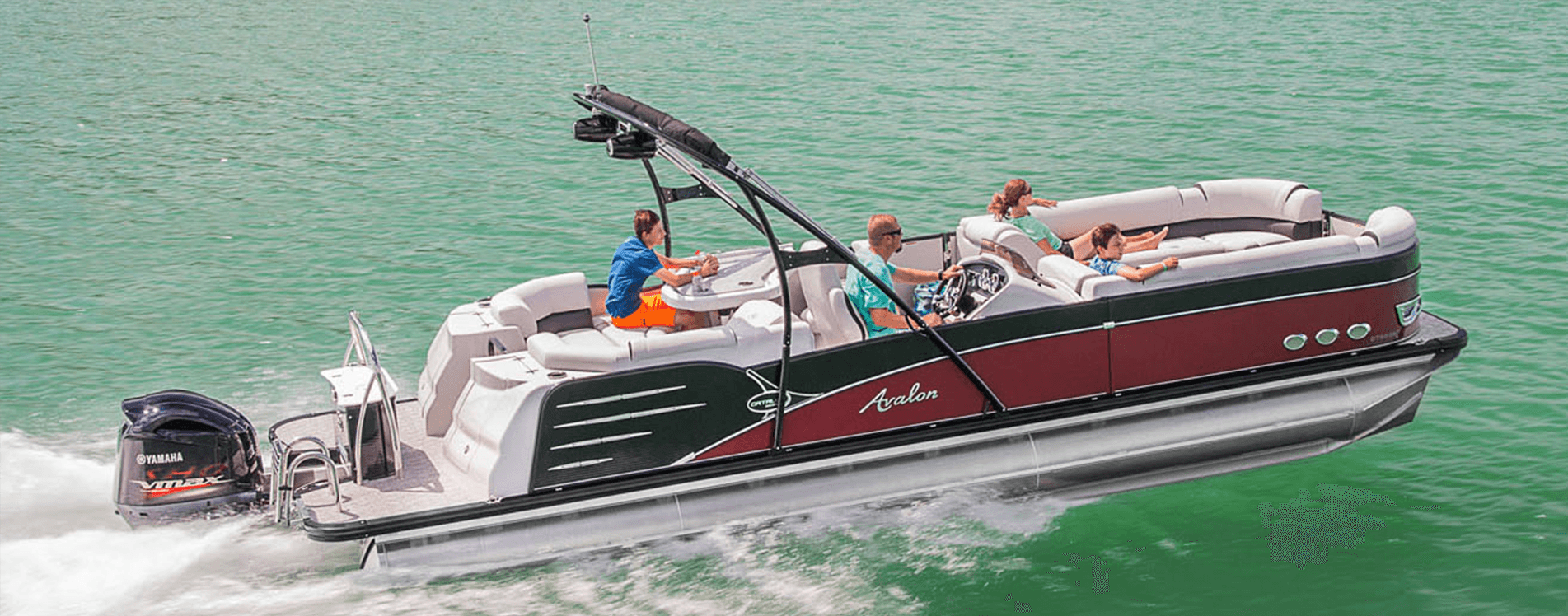 Avalon pontoon boats for sale | Johnson marine