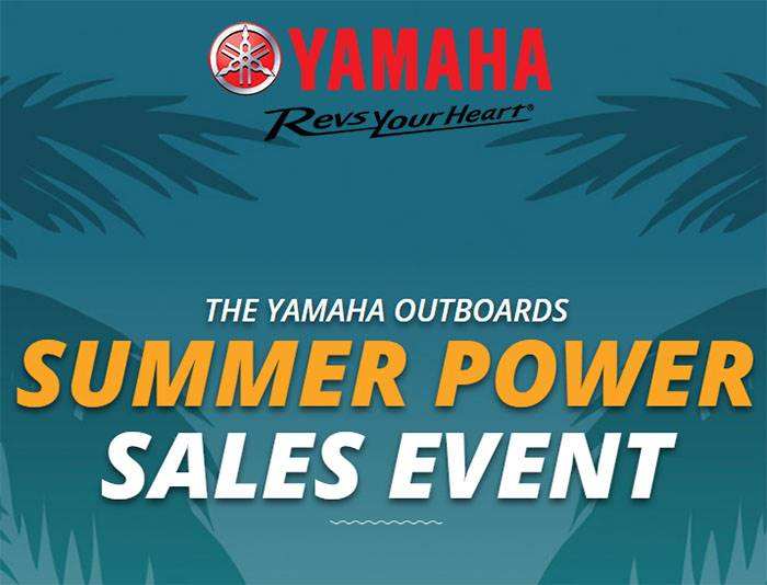 yamaha summer power sales event
