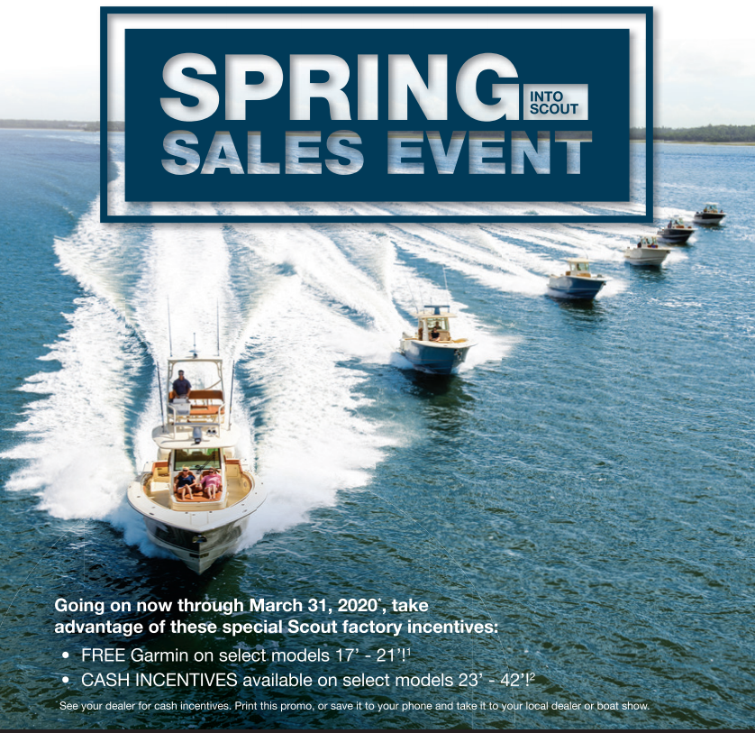 scout 2020 sales event